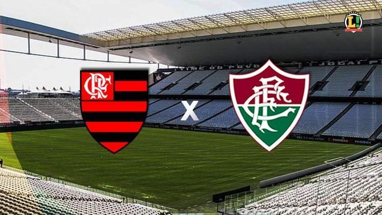 Flamengo x Fluminense - Estádio: Neo Química Arena - Dia 04/07/2021 - Horário: 16h - Transmissão: Globo e Premiere