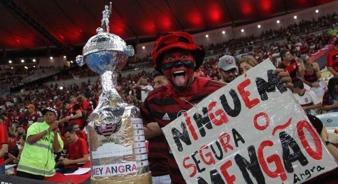 Torcida do Flamengo deu show na campanha campeã do Brasileiro e da Libertadores