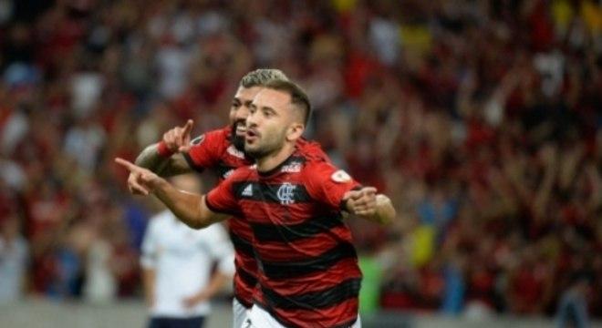 Flamengo x LDU Everton Ribeiro