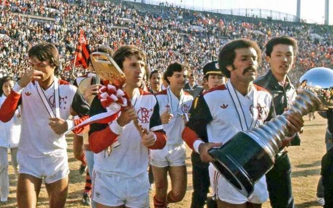 Flamengo x Liverpool - 1981 -