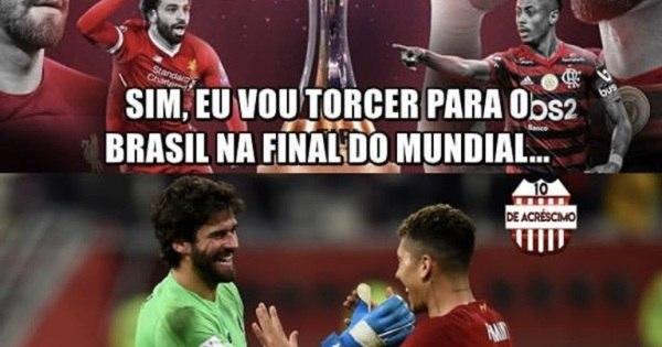 Final do Mundial entre Flamengo e Liverpool já inspira memes na web - Fotos - R7 Esportes