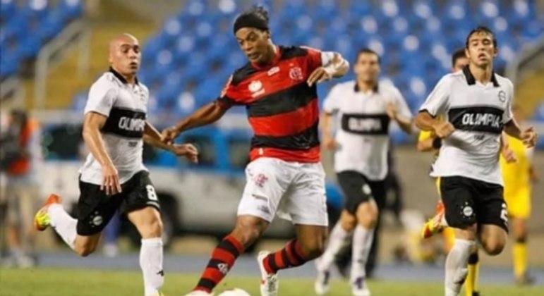 Flamengo x Olimpia 2012