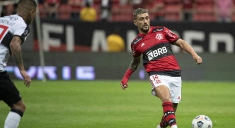 Flamengo x Olimpia - Arrascaeta
