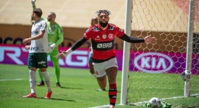 Flamengo x Palmeiras Supercopa do Brasil - Gabigol