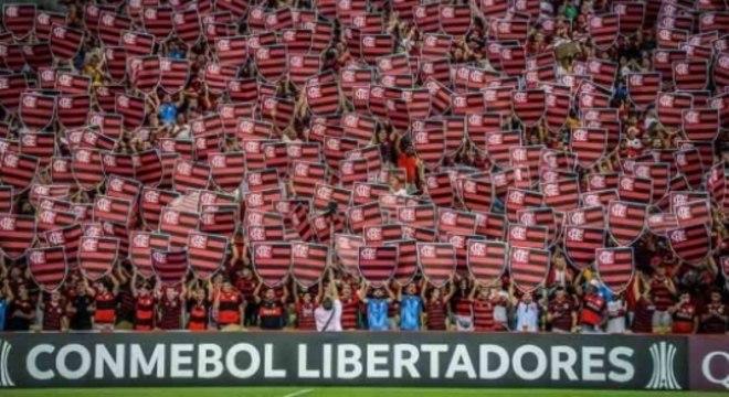 Festa rubro-negra no Maracanã