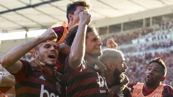 Flamengo vence Vasco por 2 a 0, no Maracanã, e é campeão carioca (Celso Pupo/Fotoarena/Estadão Conteúdo)