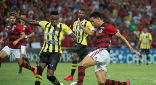 Flamengo x Volta Redonda Vitor Gabriel
