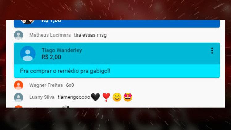 Flamenguistas usam bom humor em super chat da Fla TV