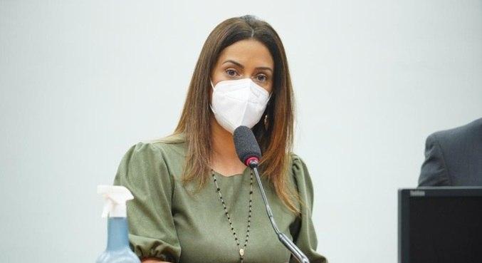 A deputada federal Flávia Arruda (PL-DF), que assume a Secretaria de Governo