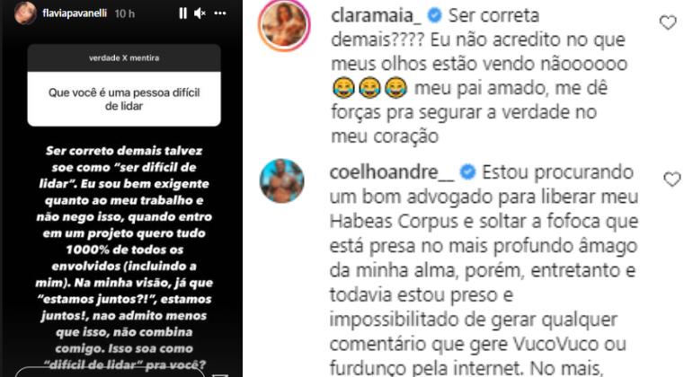 Flavia Pavanelli protagoniza briga com ex-sócia: 'Sou correta demais'