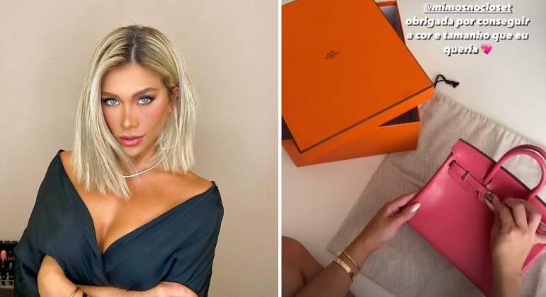 Flavia Pavanelli adquire bolsa de luxo da marca Hermès