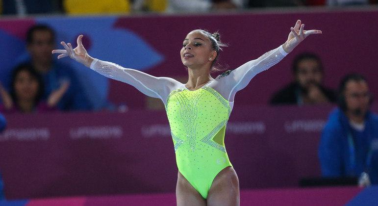 Flávia Saraiva pode se tornar a primeira mulher da ginástica brasileira a ganhar uma medalha olímpica