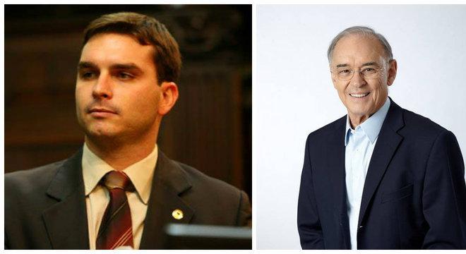 Flavio Bolsonaro (PSL) e Arolde Oliveira (PSD) são eleitos senadores no RJ