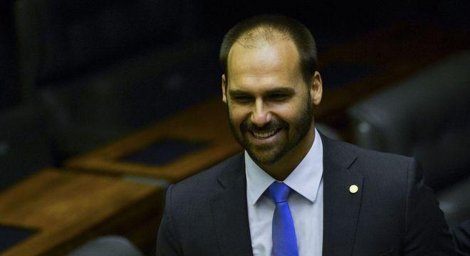 Nome de Eduardo Bolsonaro não é consenso dentro do partido
