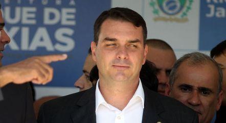 O deputado federal Flávio Bolsonaro