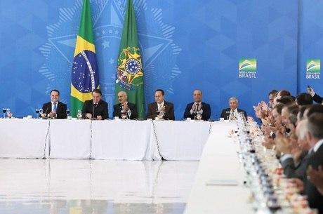 Bolsonaro agradeceu apoio à reforma