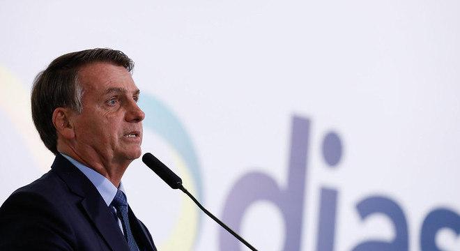 O presidente Jair Bolsonaro diz esperar melhor desempenho da economia
