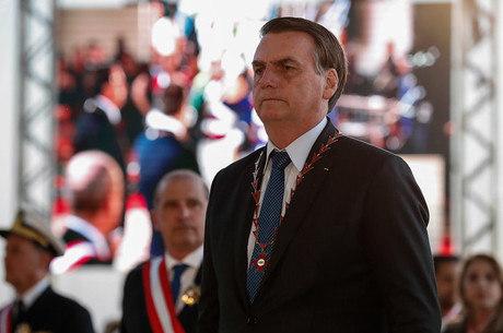 O presidente Bolsonaro que trocou chefe da PF do Rio