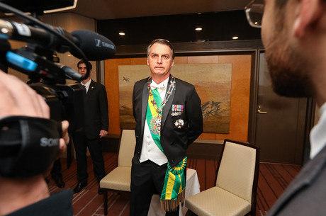 Bolsonaro está no Japão