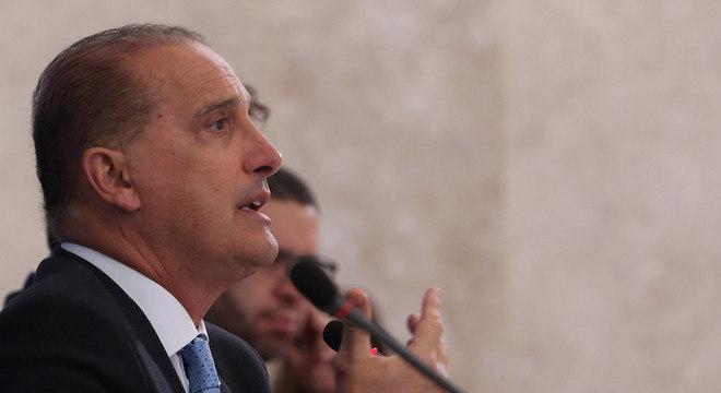 Na imagem, o ministro da Cidadania, Onyx Lorenzoni