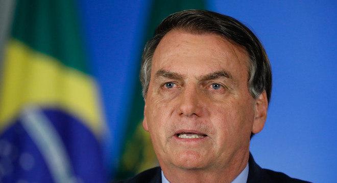 Jair Bolsonaro voltou a criticar quarentena imposta por Estados
