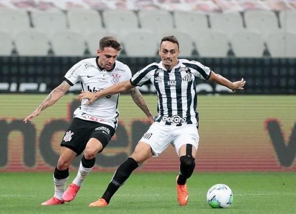 FLOP: O Santos não venceu clássicos em 2020. O jejum acabou apenas em janeiro, na vitória sobre o São Paulo, com time reserva.