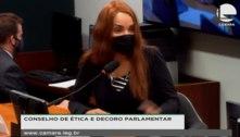 Ao Conselho de Ética, Flordelis volta a chorar e alegar inocência