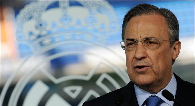 Florentino Pérez quer um galáctico na próxima janela