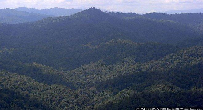 A floresta tropical de Mosquitia, na América Central, esconde não só um tesouro arqueológico