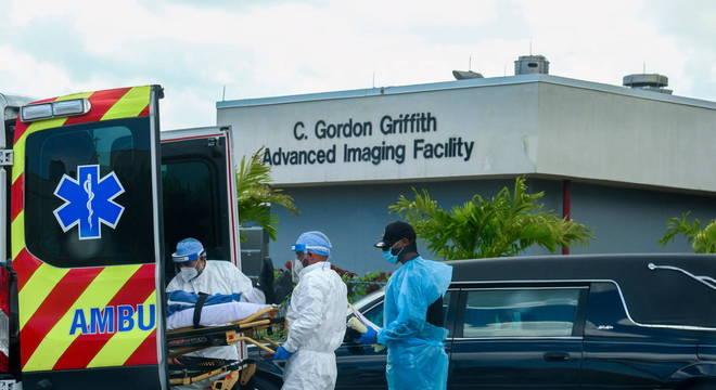 A Flórida é o segundo estado com o maior número de casos de covid-19 nos EUA