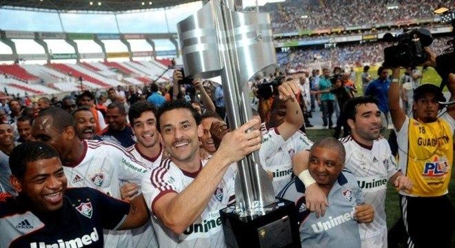 O Fluminense campeão brasileiro de 2012 espantou a audiência. 9,8 pontos