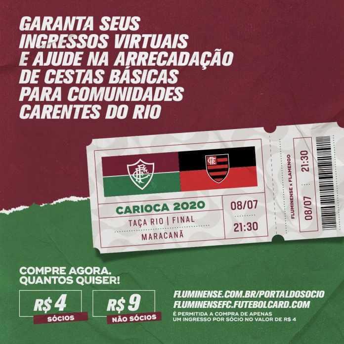 Enquanto o Flamengo só pensa em faturar, o Flu fará caridade amanhã
