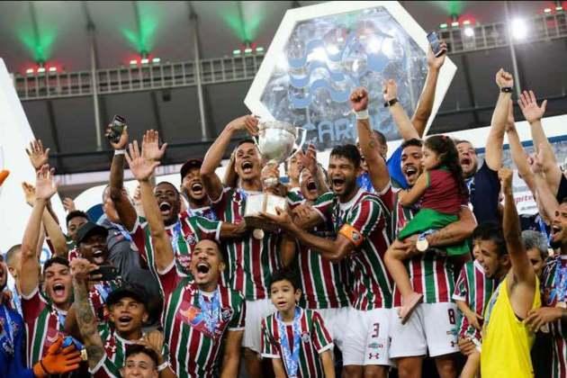 Fluminense 3 x 0 Botafogo - 25 de março de 2018: Foi o primeiro título conquistado pelo Fluminense no Novo Maracanã, após a reforma para a Copa do Mundo de 2014. Os gols da vitória que garantiu a Taça Rio foram marcados por Pedro, Marcos Júnior e Jadson.