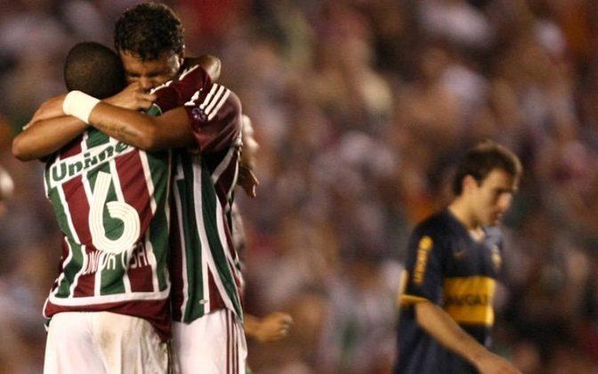 Fluminense 3 X 1 Boca Juniors - Semifinal Copa Libertadores 2008 - Com gols de Washington, Conca e Dodô, o Fluminense virou, deu show no Maracanã e venceu o Boca Juniors por 3 a 1, chegando em sua primeira final de Libertadores.
