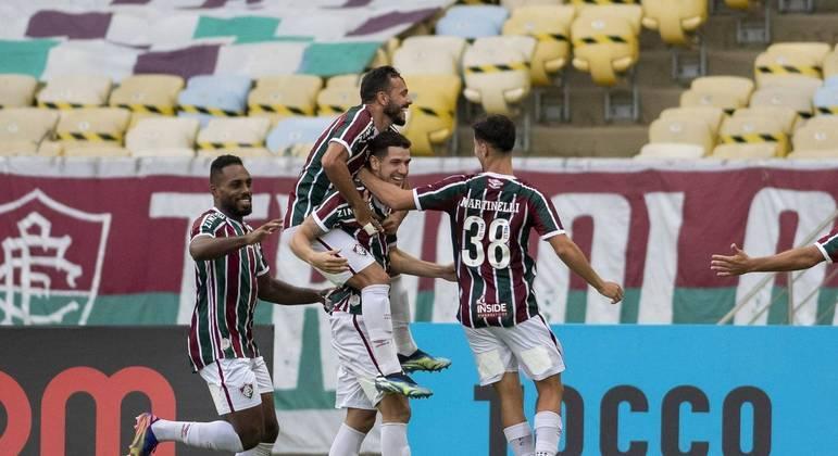 Zagueiro Nino foi o autor do único gol da partida
