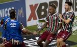 Fluminense e Portuguesa-RJ, neste domingo (2), pela partida de ida das semifinais do Campeonato Carioca 2021