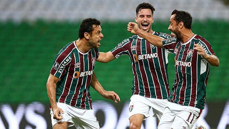 Fluminense: cenário 1 (sem transferências de atletas) - Receitas: R$ 132 milhões - Folha salarial: R$ 119 milhões - Receitas x Folha (em %): 91% - Conclusão: acima do fair play financeiro.