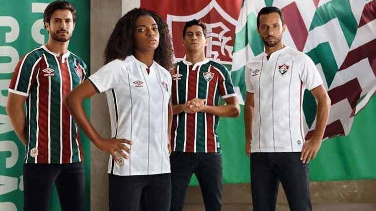 Fluminense lançou, na quarta-feira, as novas camisas feitas pela Umbro. O LANCE! relembra as últimas coleções do clube.