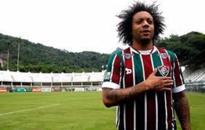 FLUMINENSE - Marcelo, atualmente no Real Madrid