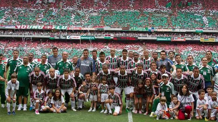 Fluminense - três títulos: 1984. 2010 (foto) e 2012