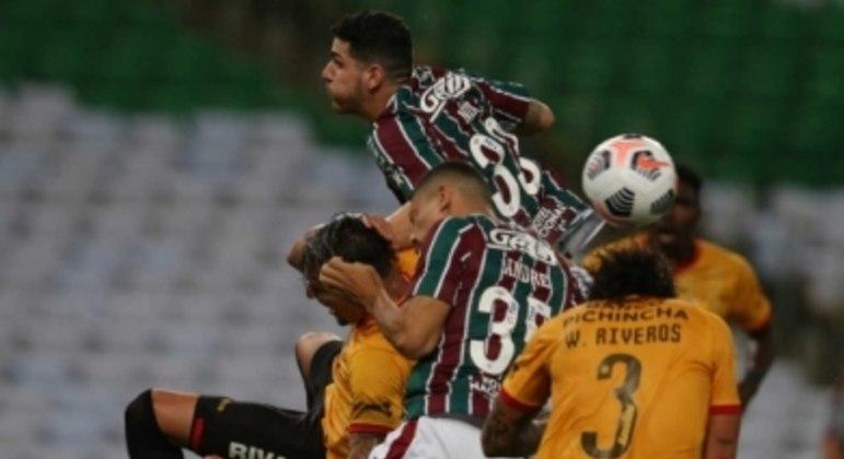 Fluminense x Barcelona de Guayaquil - Nino e André
