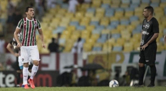 Fluminense x Botafogo Ganso e Diego Souza