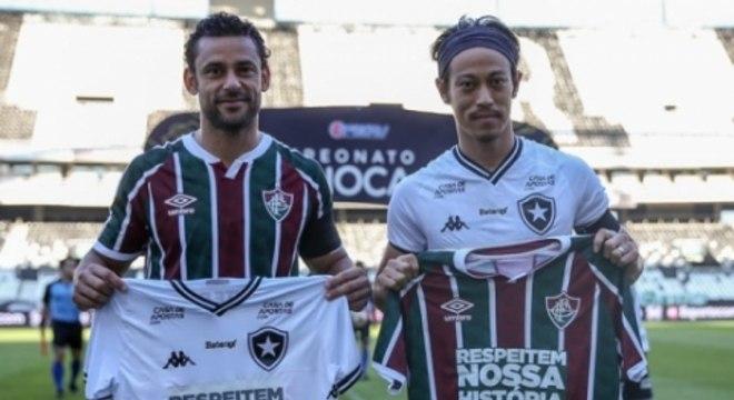 Fluminense x Botafogo - Protesto