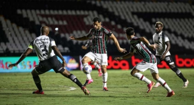 Fluminense x Ceará - Gabriel Teixeira e Fred