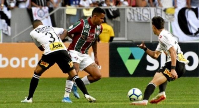 Fluminense teve muito mais vontade, gana pelos três pontos