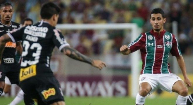 O Fluminense ganhou confiança com o Corinthians recuando