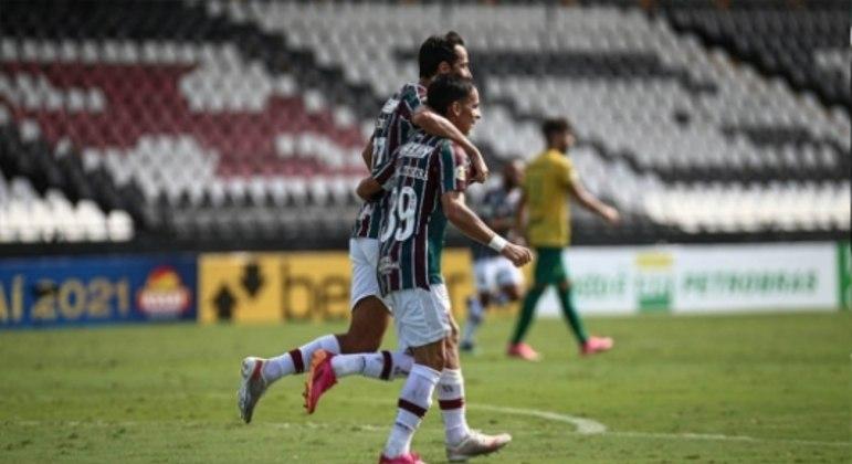 Fluminense x Cuiabá - Gabriel Teixeira e Nene
