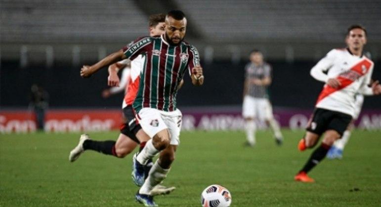 Fluminense x River Plate - Samuel Xavier