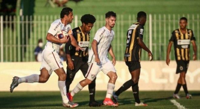 Fluminense x Volta Redonda - Fred e Martinelli