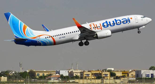 Companhia aérea Flydubai faz voo direto de Dubai para Tel Aviv